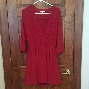 Francesca's - Miami dark red dress size L